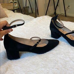 Sam Edelman Low Heel Strappy Flats Mary Jane